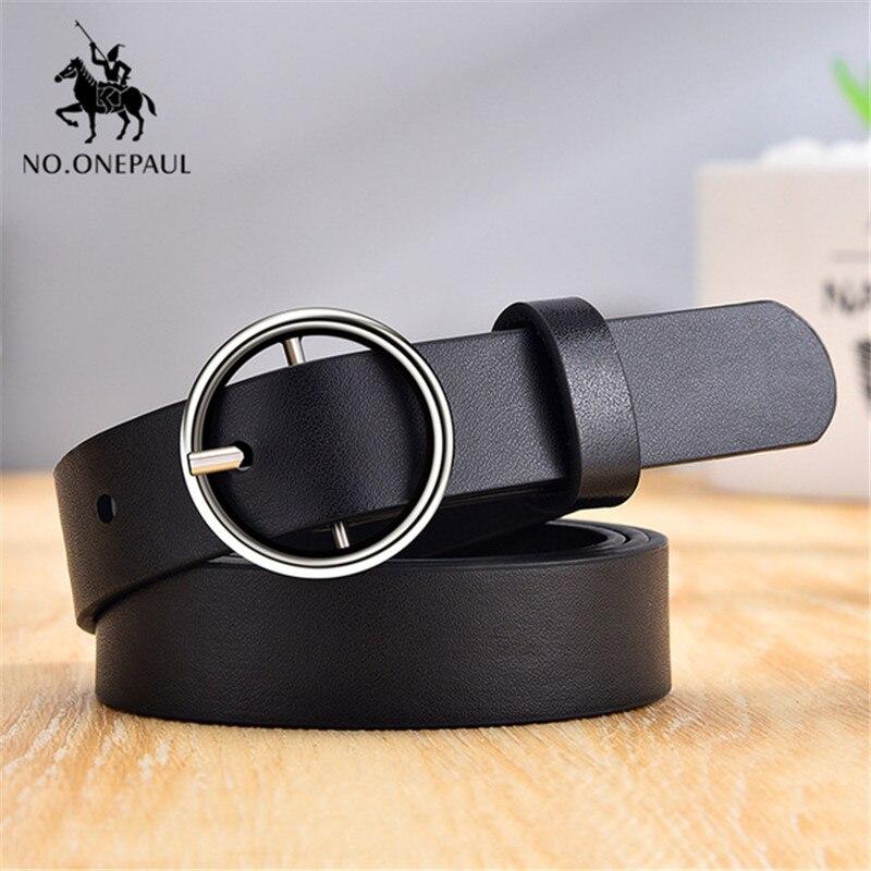 ¡Novedad! ¡2020! Cinturón femenino de ONEPAUL con hebilla a la moda, cadena decorativa para Vaqueros, marca de lujo estilo punk para mujer