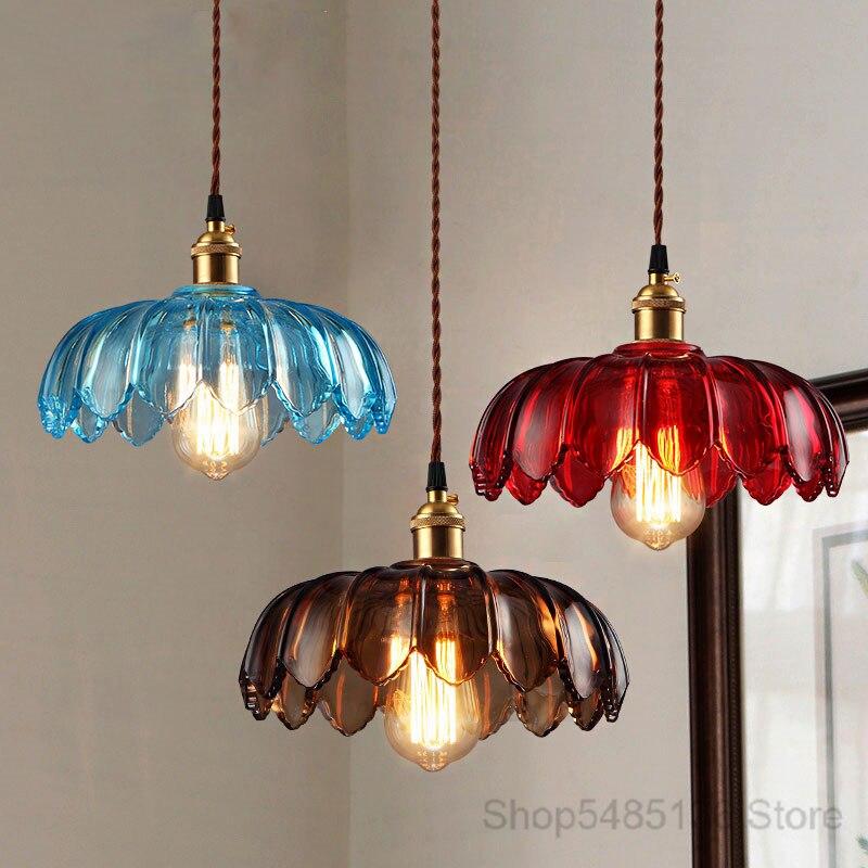 luminaria pendente estilo nordico com flores luminaria de teto suspensa estilo industrial