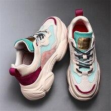 JIANBUDAN-baskets décontractées en maille   Chaussures de marche en maille aérées, Sneakers à plate-forme à la mode pour femmes