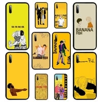 banana fish anime phone case for samsung a6 6s 9 530 720 2018 750 8 9 10 20 30 40 50 70 10s 20s 51 52 plus 5g cover