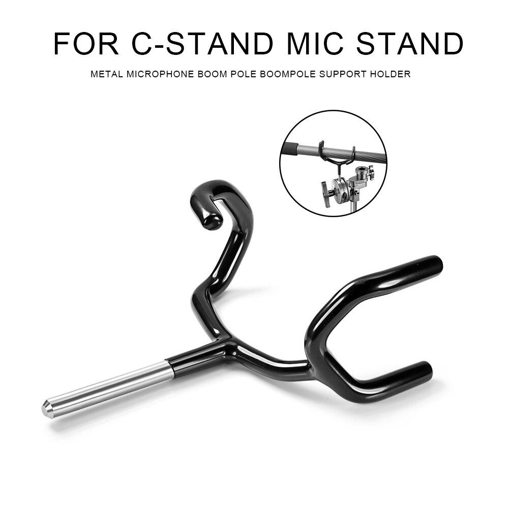Soporte de boopolo de acero inoxidable, soporte de boopolo para micrófono de Metal, soporte para soportes de micrófono y soportes de micrófono