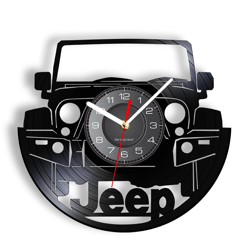 Reloj de pared Retro para automóvil, accesorio deportivo para automóvil, estilo Retro,...