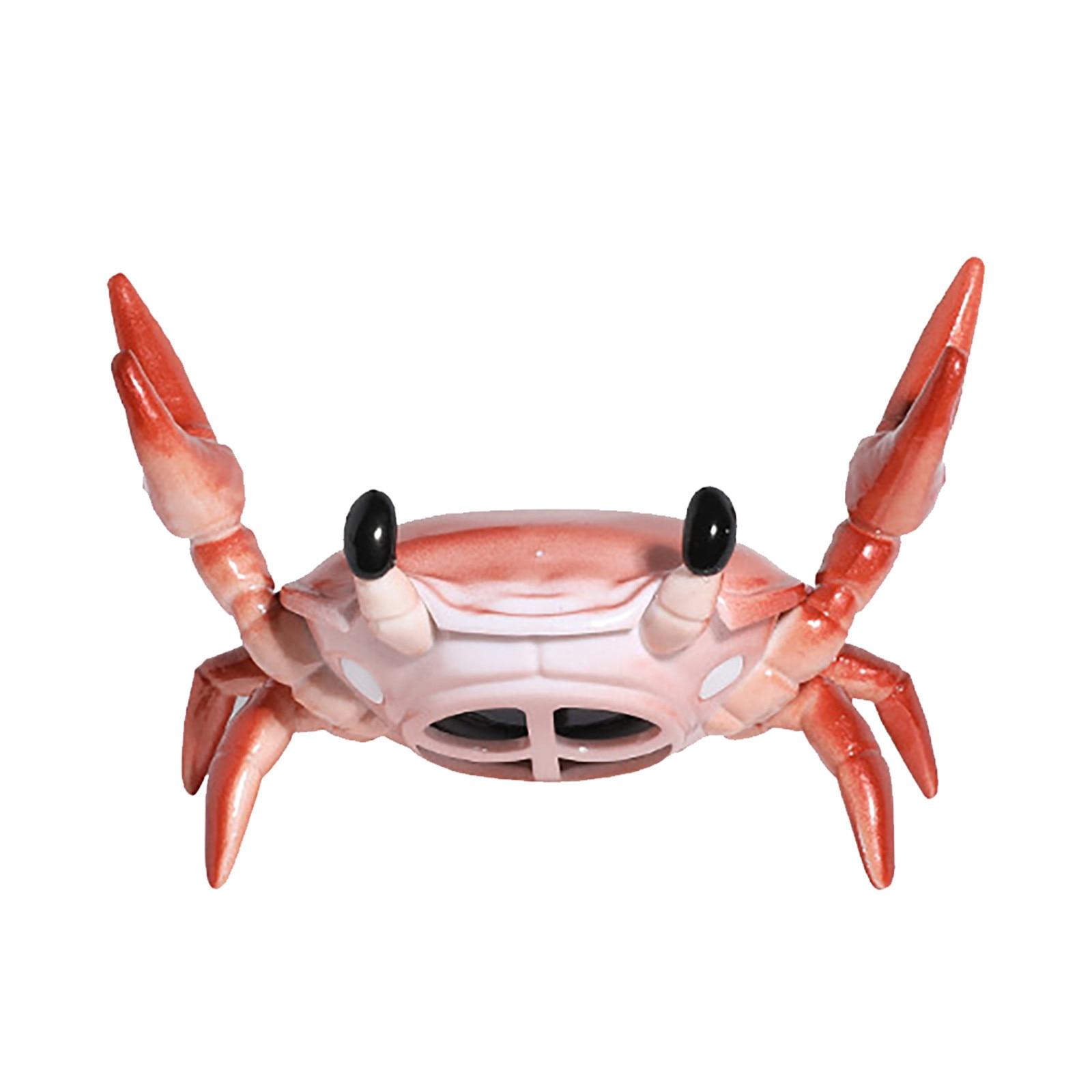New Creative Crab Shape Wireless Bluetooth Mini Speaker Phone Holder Portable Surround Sound Button Creative Audio Electronics enlarge