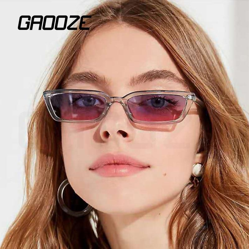 GAOOZE Square Luxury Sunglasses Women Men Retro Glasses Ladies Branded Sunglasses Women Vintage Anti