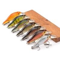ppgun 4g11g22g black minnow wobblers pike fishing lure artificial bait hard swimbait mini crankbaits fishing tackle lures