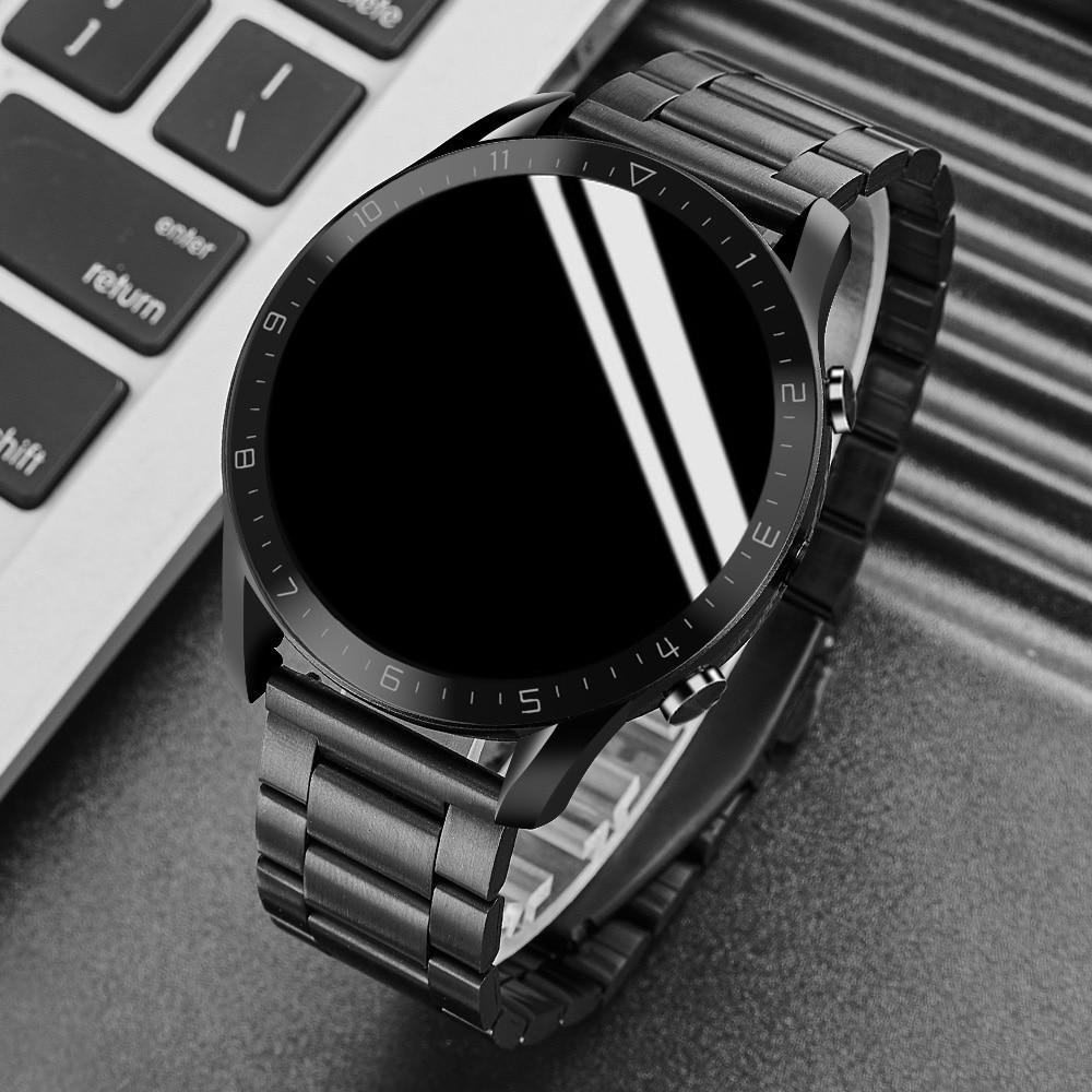 جديد DT-92 مكالمة بلوتوث الذكية ووتش الرجال لمس كاملة شاشة IP68 للماء Smartwatch لالروبوت IOS الرياضية اللياقة البدنية الساعات