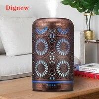 Humidificateur dair en Bronze pour maison  diffuseur daromatherapie  brumisateur dhuile essentielle  7 couleurs  veilleuse  250ml