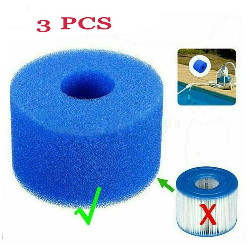 Intex-cartucho de filtro para bañera de hidromasaje, espuma reutilizable/lavable, para Spa puro,...