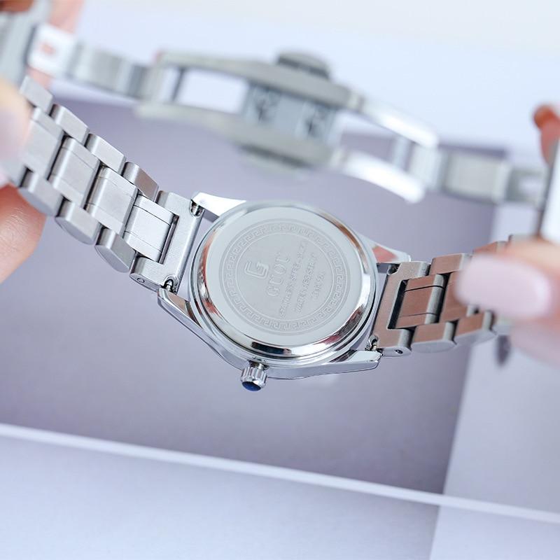 New Rhinestone Ladies Watch Women Fashion Dress Quartz Watches Lady Stainless Steel Waterproof Wristwatch Simple Girl Clock 2019 enlarge