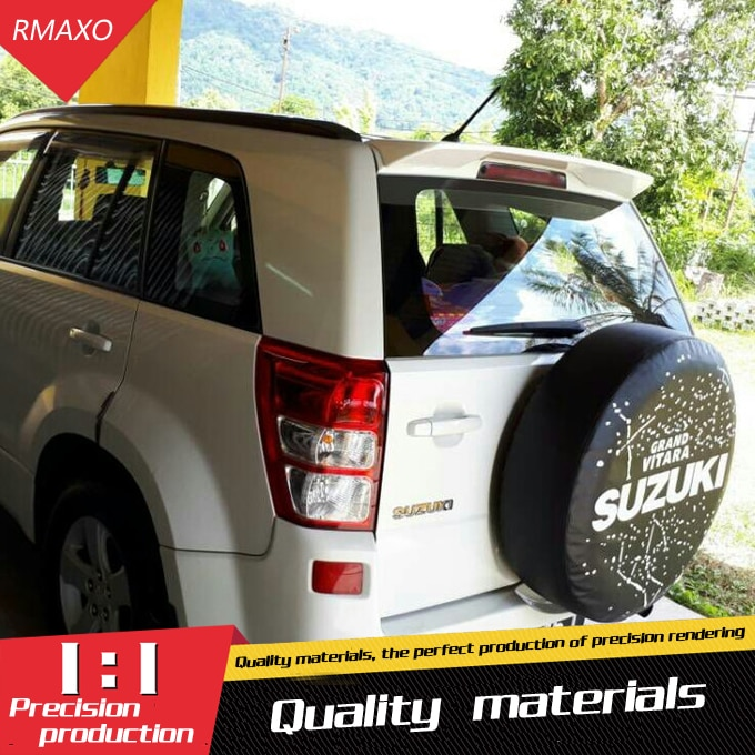 Alerón trasero para Suzuki Vitara, Material ABS, alerón trasero de Primer Color para Suzuki Grand Vitara, alerón 2009-2013