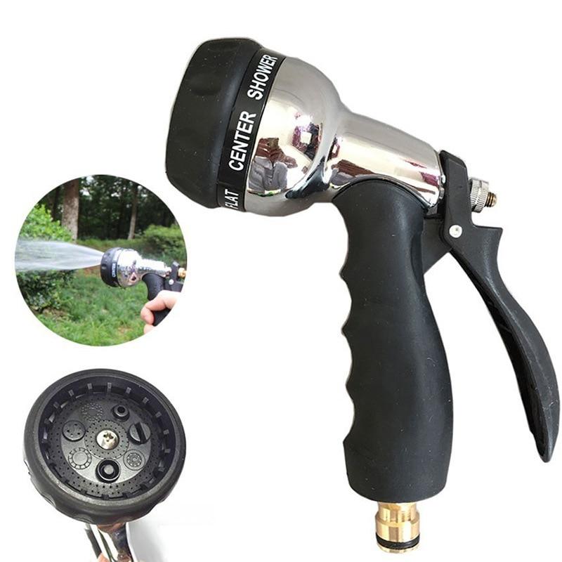 Регулируемая мощность садовая мойка распылитель сопла автомобиля высокого давления Мощный водяной пистолет для спринклера инструмент для...