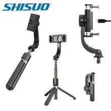 SHISUO L08 3 w 1 ręczny stabilizator Selfie Stick statyw ze zdalnym uchwytem Selfie stojak na telefon/Xiaomi/Huawei Mini statywy