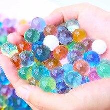 3000 pièces couleur perles absorbant leau cristal sol croissance eau polo hydrogel perle boule jouet éducatif meubles décoration