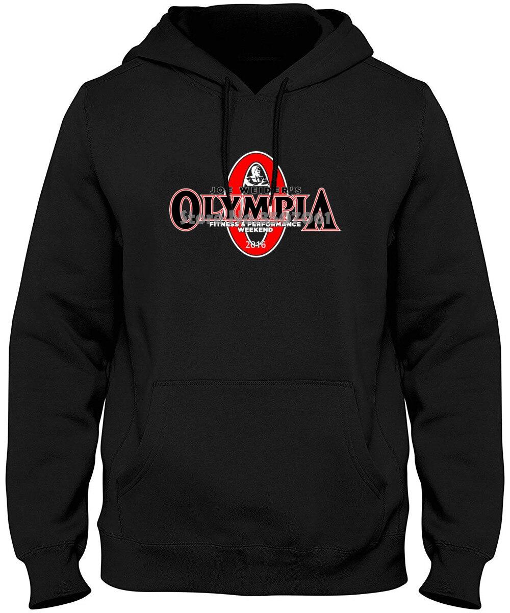 Caliente el Sr. Olympia culturismo Fitness suelto marca Clothihng de moda de calidad superior pierde 100% algodón sudaderas con y sin capucha sudaderas
