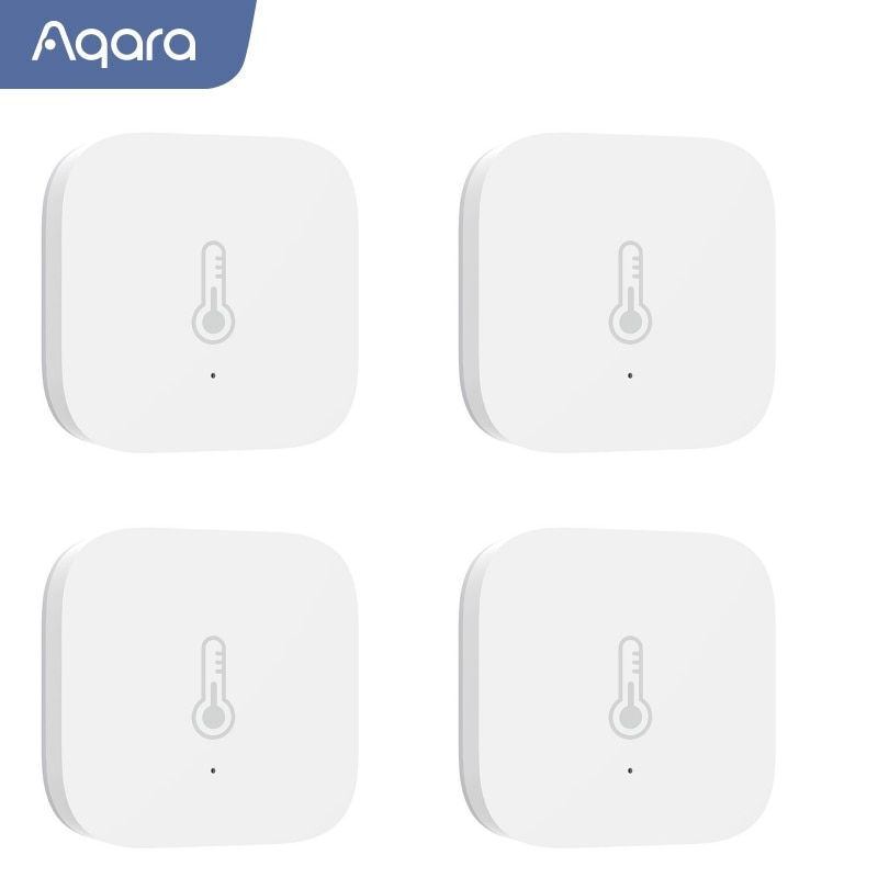 Aqara Temperature Smart Air Pressure Humidity Environment Sensor Remote Control Zigbee Work With MiHome Homekit For Xiaomi Mijia датчик xiaomi aqara temperature humidity sensor wsdcgq11lm
