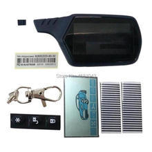 A91 LCD Display Screen Flexible cable + A91 Keychain Body Cover Case For Car Alarm StarLine A91 Lcd