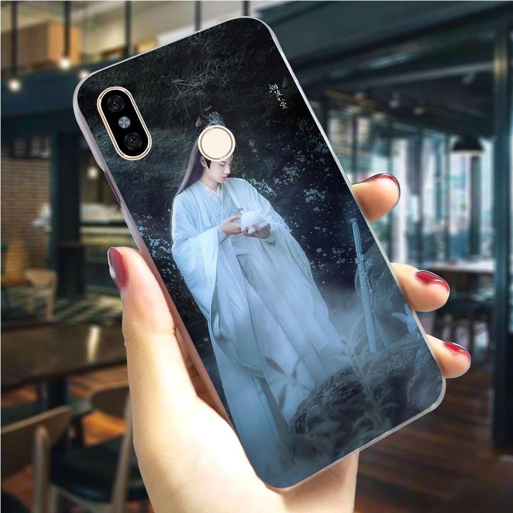 Чехол для телефона Untamed Wang Yibo Xiao Zhan для Xiaomi Redmi 5A 4X 4A 5 Plus GO 6A 7A K20 Pro Note 3 4 5 6 7 5A Prime
