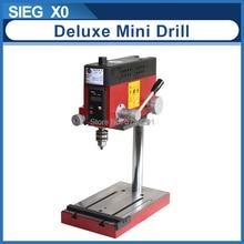 X0 mini moulin de luxe SIEG 6mm 150W moulin et perceuse