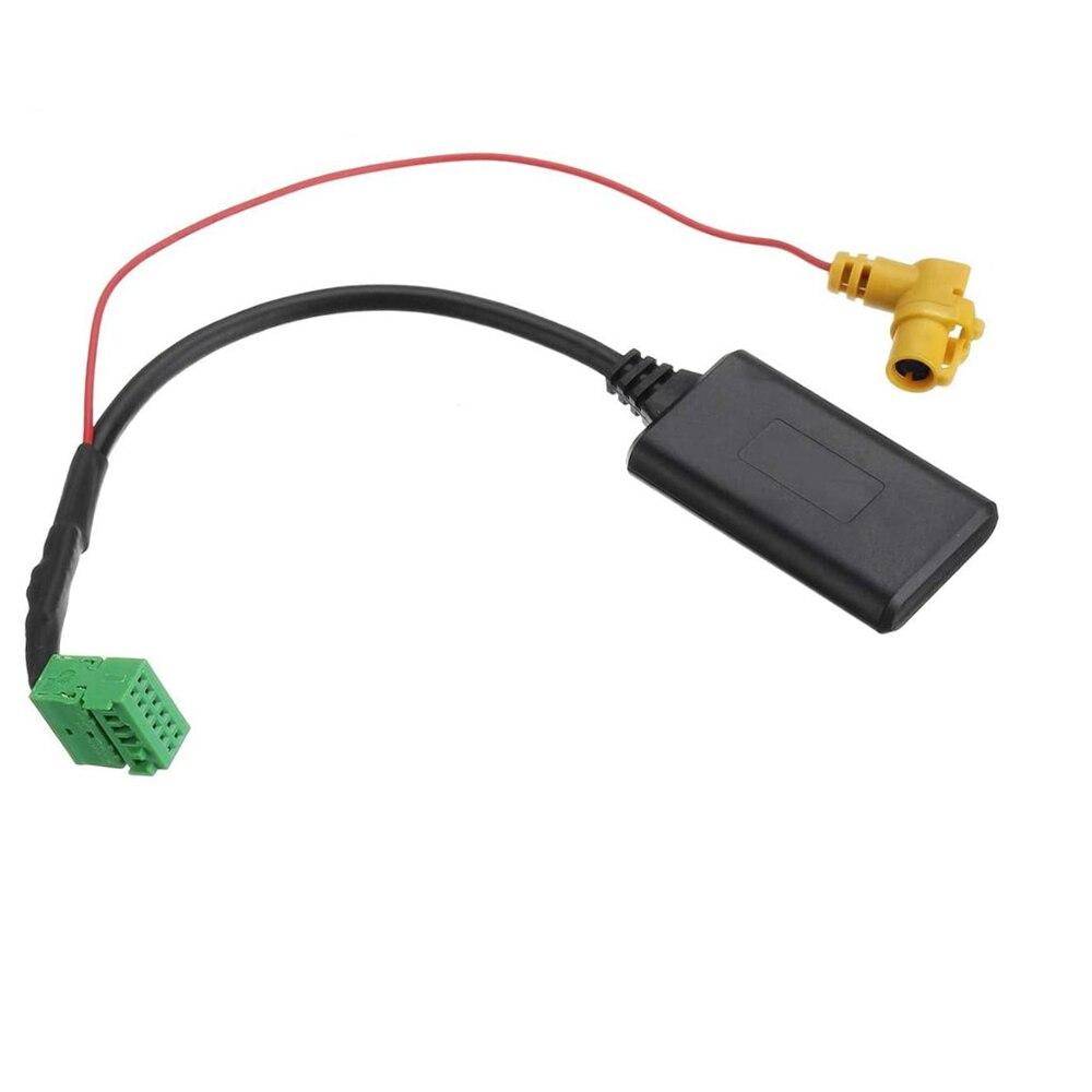 Biurlink-MMI 3G AMI câble AUX 12 broches   Bluetooth, adaptateur média extension BT 5.0, entrée Audio sans fil pour Audi Q5 A6 A4 Q7 A5 S5
