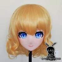 r mask 10 bjd crossdresser doll silicone cosplay mask full head girl resin anime touhou project alice kigurumi cosplay mask