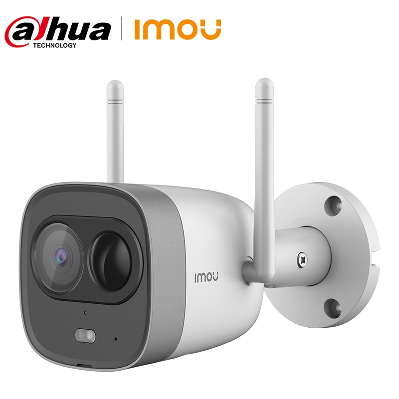 Dahua imou New Bullet 1080P WiFi Camera Dual Antenna Outdoor IP67 Waterproof  Active Deterrence PIR Detection Alarm Brazil Plug