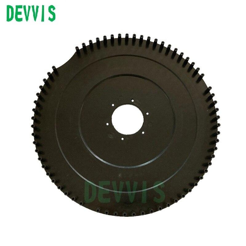 PROTECTOR DE PLÁSTICO Protecive para cortadora de césped robótica DEVVIS E1600,E1600T (actualizado con nuevo diseño)