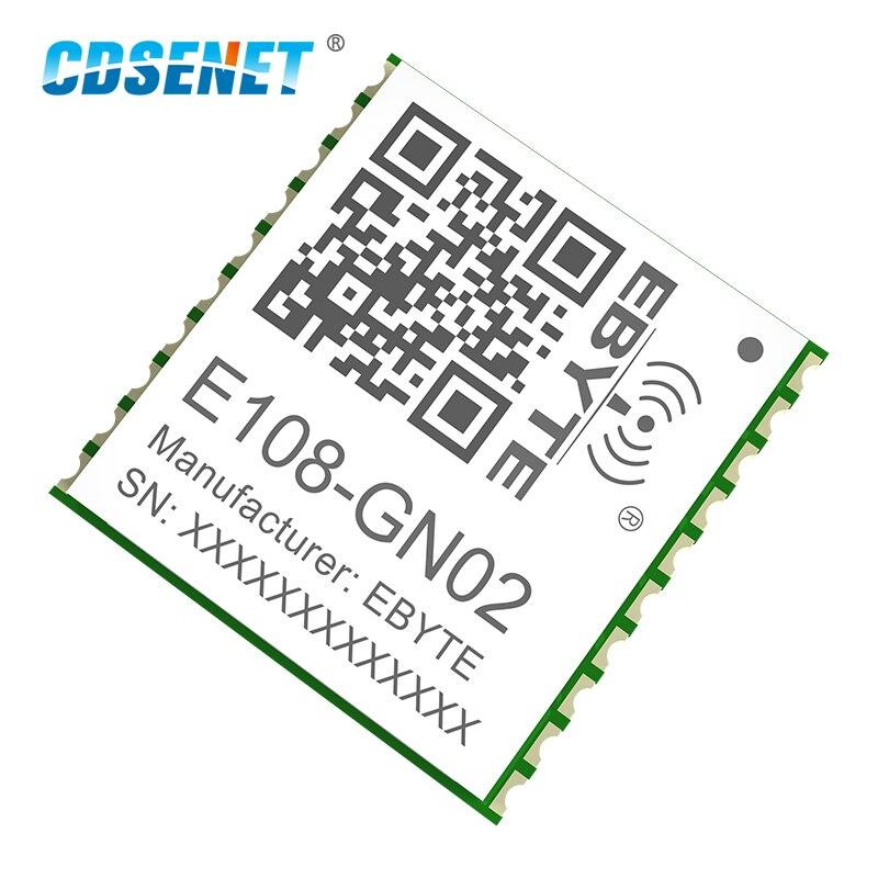 2X GPS-модуль CDSENET E108-GN02 BDS, многорежимный модуль позиционирования и отслеживания, навигация NMEA0183, высокопроизводительное позиционирование GNSS
