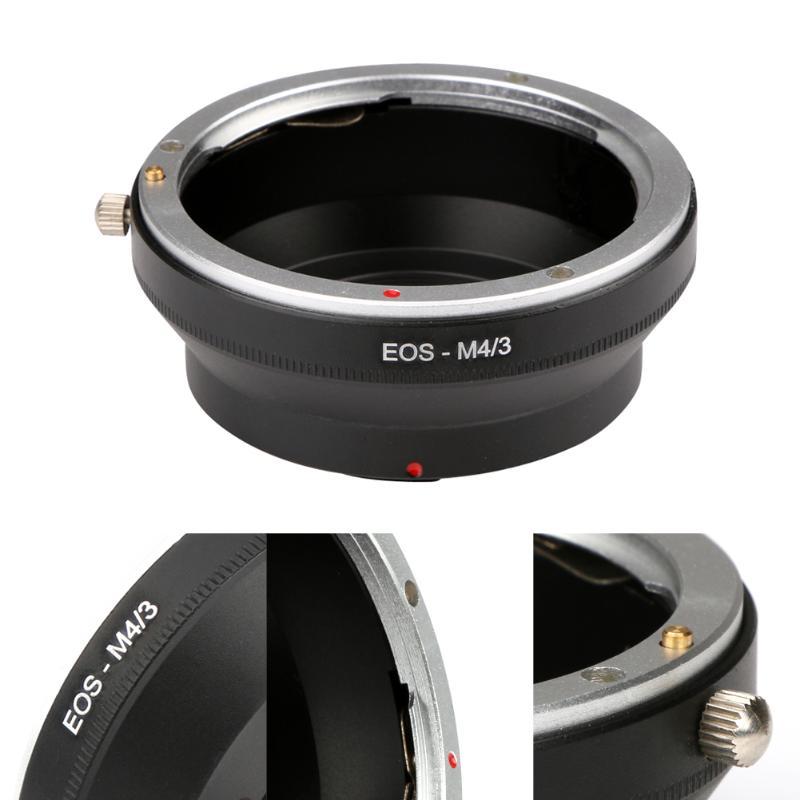 Adaptador de lente da câmera EOS-M4/3 para canon eos ef montagem lente para olympus micro 4/3 lente da câmera adaptador anel