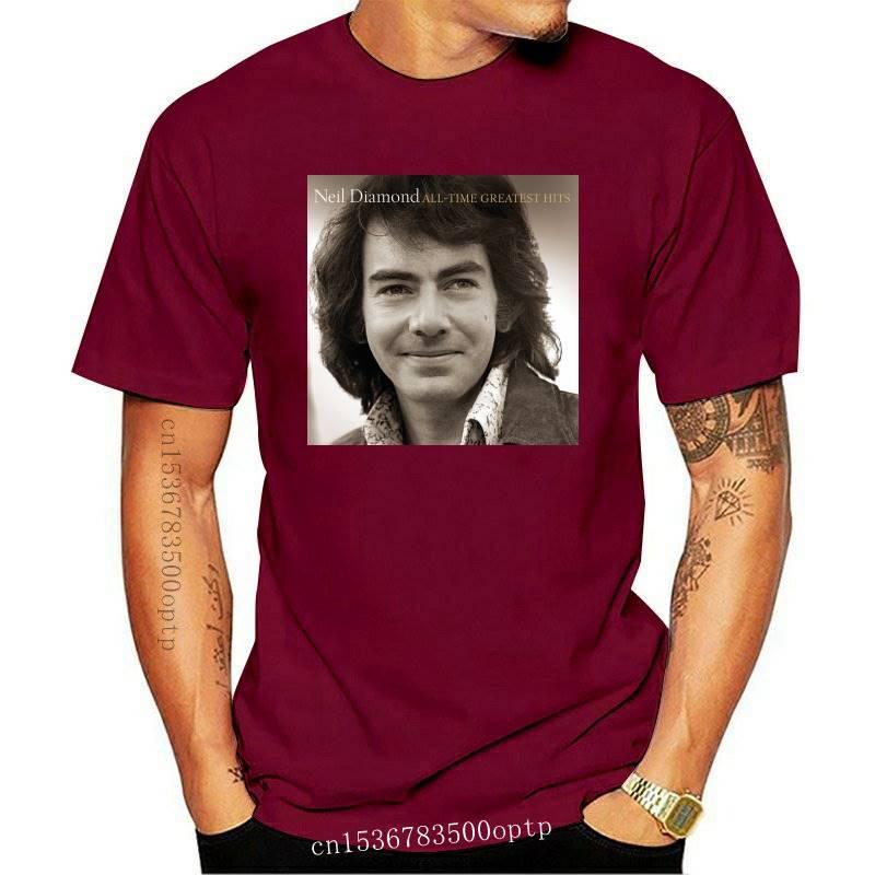 Neil Diamond - All-Time Greatest Hits t-Shirt DMN Black(1)