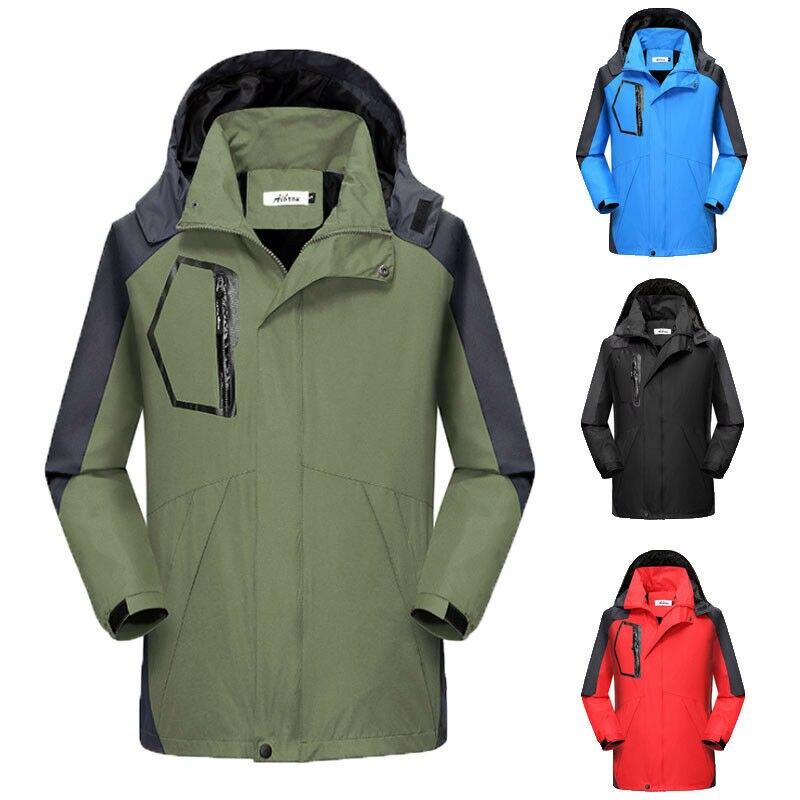 Chaqueta deportiva impermeable para hombre, para invierno, para esquí, escalada en nieve, senderismo, esquí, chaquetas para hombre