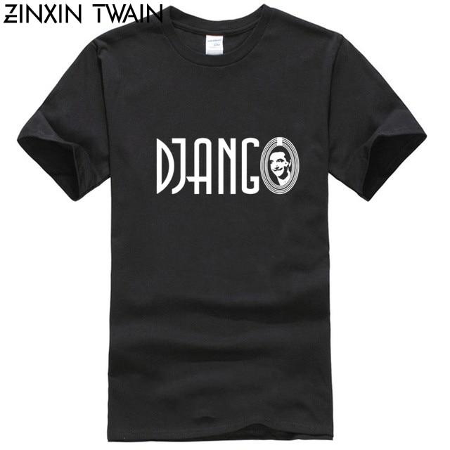 Camiseta de hombre pequeña de Django, Reina, gitana, Jazz, guitarra Swing