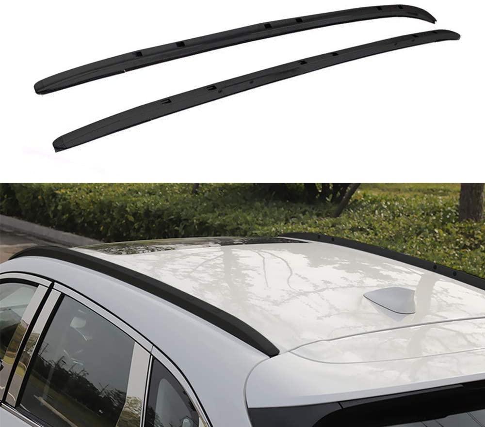 Portaequipajes para techo de aluminio, 2 uds., adecuado para Mazda- CX-5 CX5 2017 2018 2019 2020-Negro