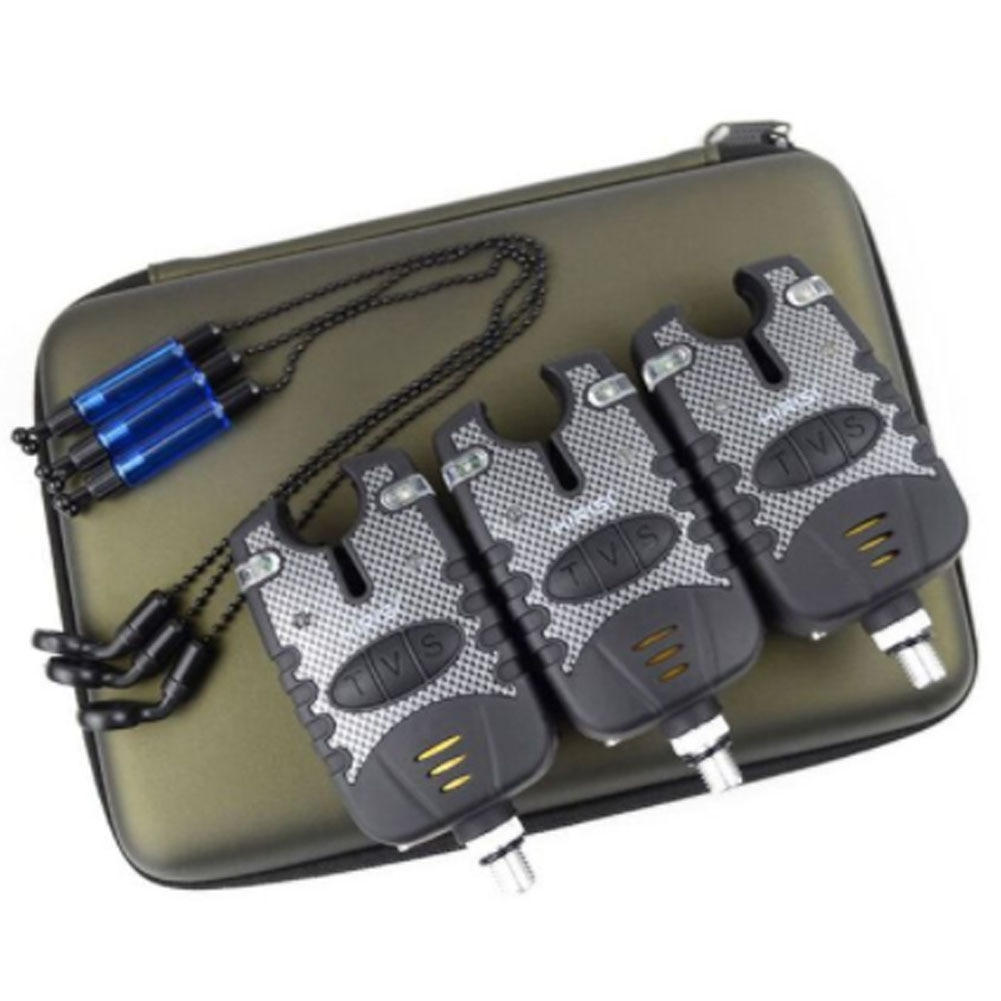 Carpa indicadora LED electrónica Anti impacto, accesorios operados por batería, poste de mar, alarma de mordida para exterior duradera