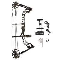 1set 35 70lbs archery compound bow draw length 16 30inch adjustable hunting bow ibo 320fps outdoor practice shooting accessories