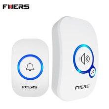 FUERS M557 Wireless Doorbell 433Mhz Home Welcome Smart Doorbell 150M Long Wireless Distance 32 Songs