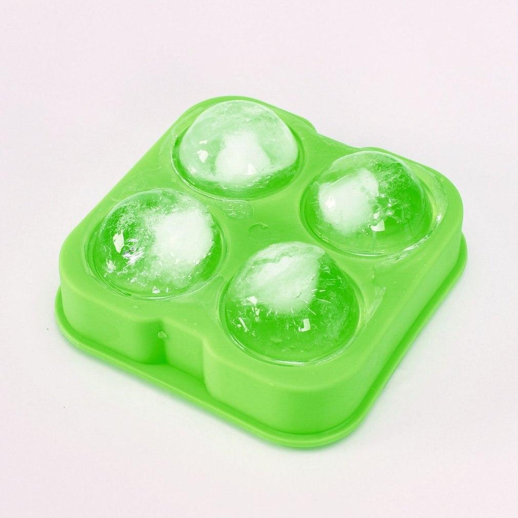 Ice hockey mold bar 4 hole ice hockey mold spherical ice cup small  grid mold round