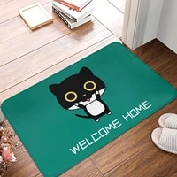 bathroom door entrance mat cartoon cute cat bath rug bathroom non slip mat toilet mat entrance door absorbent mat door mat