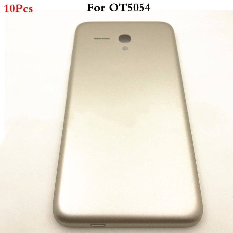 10Pcs Original Battery Back Cover For Alcatel One Touch Fierce XL OT5054 OT-5054 5054D Phone Housing Rear Door Case+Side Button