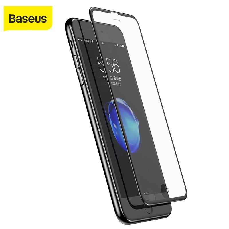 Baseus צר צד 3D מסך מגן סרט עבור iphone6 6s 7 0.23mmSilk-מסך רך חיות מחמד מזג זכוכית סרט עבור iphone6 6S 7 בתוספת