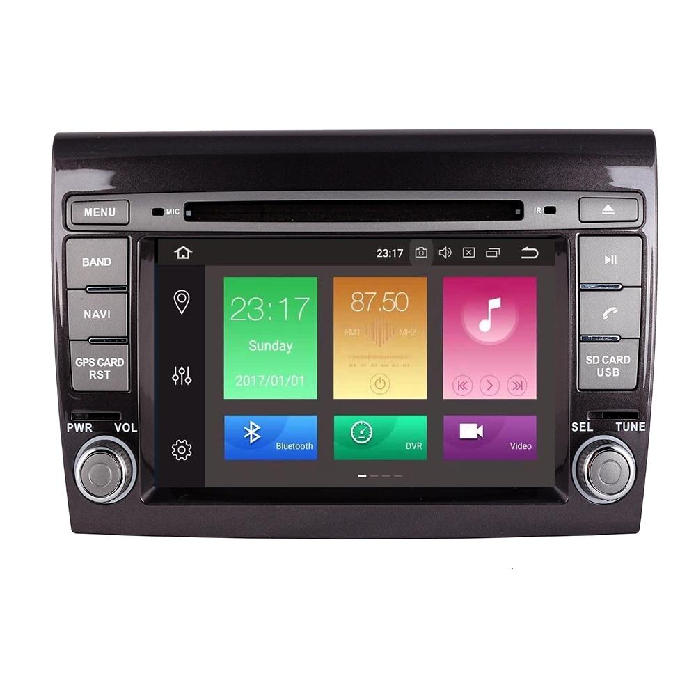 2 Din Android 10 4 + 32G reproductor Multimedia para Fiat Bravo 2007, 2008, 2009, 2010, 2011, 2012 DVD Automotivo Radio GPS 4 GB RAM OBD