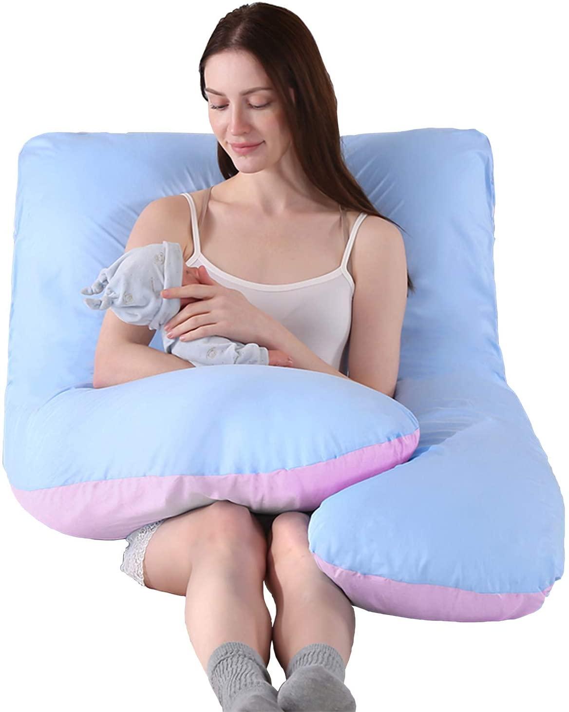 130x70cm u forma gravidez travesseiro maternidade apoio do corpo travesseiro corpo travesseiro para grávidas lado sleepers cama travesseiros