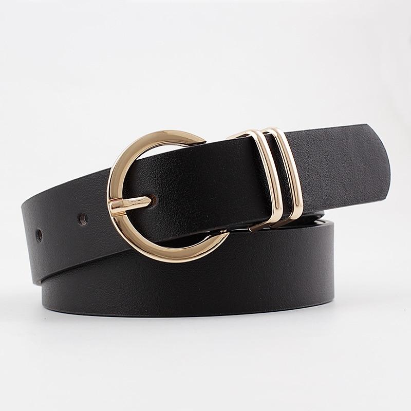 2020 Designer Women's Black White Red Wide Crocodile Leather Belt Female Fashion Waist Belts for Women Jeans Cinto Feminino