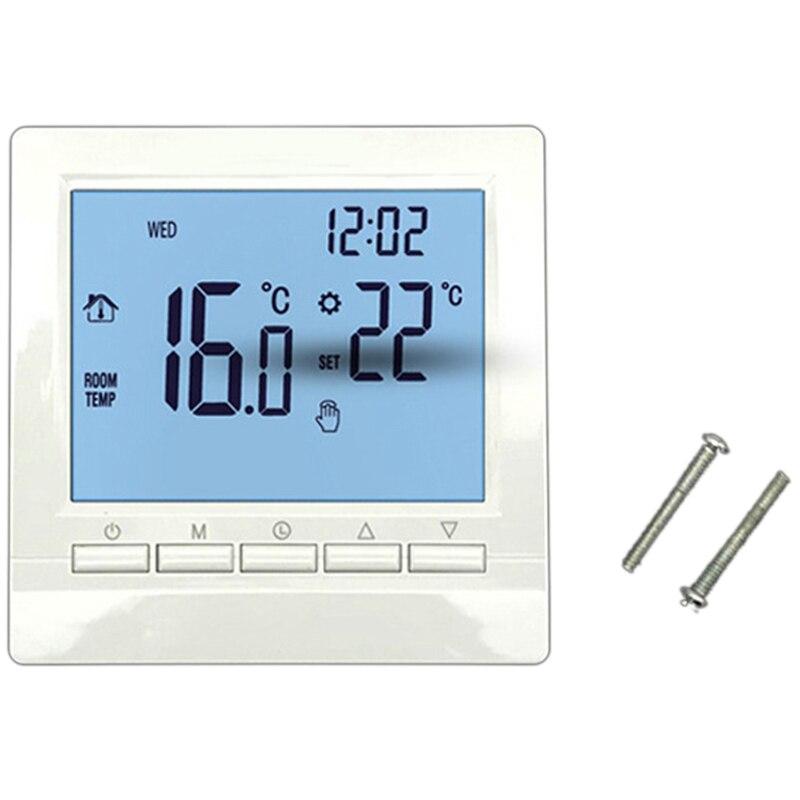 AYHF-termostato de calefacción de caldera de Gas regulador de temperatura azul para calderas programable semanalmente
