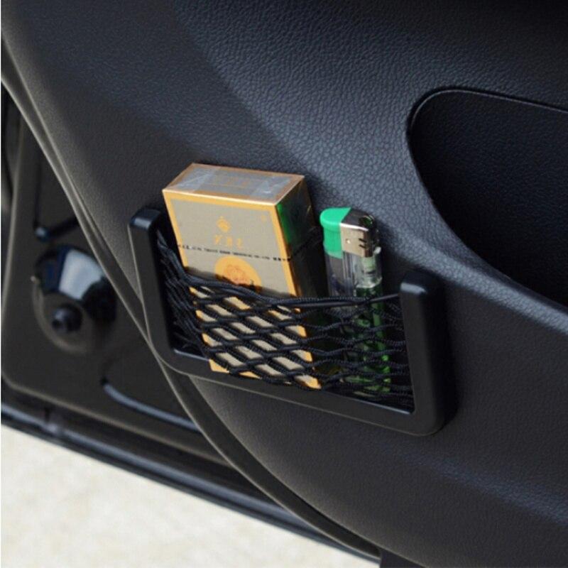1 caixa de armazenamento de rede de carro adesivos, para honda CR-V XR-V accord odysey crosstour fit jazz city civic jade mobilio acessórios