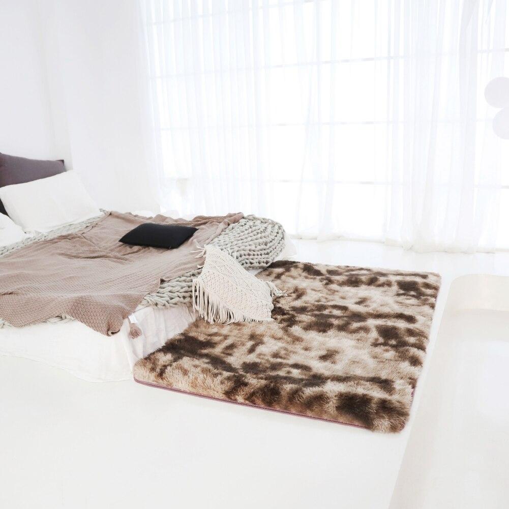 سجادة قطيفة سميكة لغرفة المعيشة ، إكسسوار قطيفة لغرفة نوم الأطفال ، نافذة أرضية ، بجانب السرير ، ديكور منزلي ، حصيرة مخملية ناعمة ، 2021