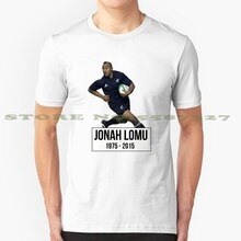 Jonah Lomu Fashion Vintage Tshirt T Shirts Jonah Lomu Rugby Tribute Rip New Zealand Union All Black Sport Sports Legend