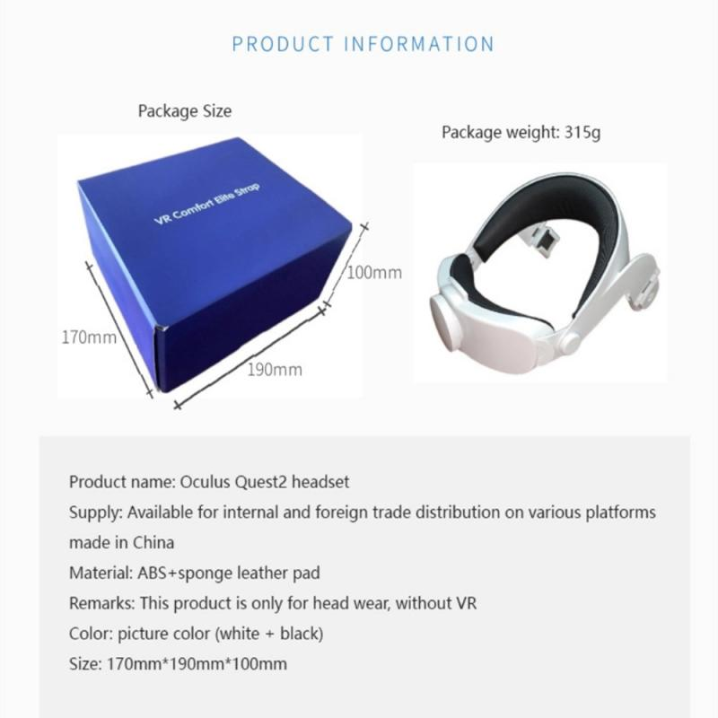 New For Oculus Quest 2 Halo Strap Virtual Reality Supporting Forcesupport Upgrades Head Strap For Oculus Quest 2 Accessories enlarge