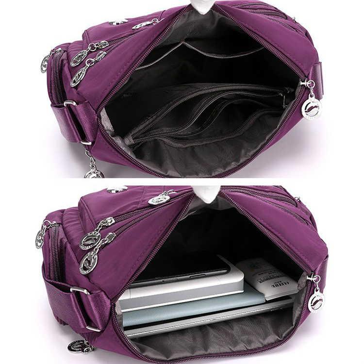 2020 Fashion Women Shoulder Messenger Bag Waterproof Nylon Oxford Crossbody Bag Handbags Large Capacity Travel Bags Purse Wallet Aliexpress