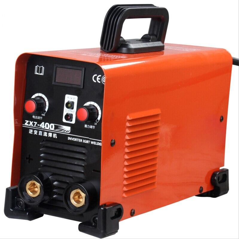 380 فولت الصناعية النحاس الأساسية العاكس تيار مستمر دليل آلة لحام Zx7-400 أدوات كهربائية
