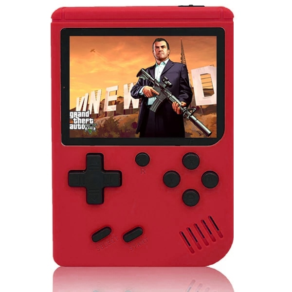Video Game Consoles Handheld Game Player  Portable 3 Inch 400 Retro Games In 1 Classic 8 Bit LCD Color Screen for Boys Gifts